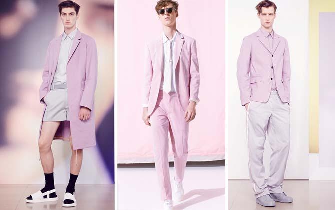 Pink Menswear S-S15
